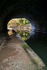 Mytholmroyd canal tunnel, Rochdale Canal (35mmMan) Tags: rochdale canal towpath west yorkshire mytholmroyd huaweimobile autumn