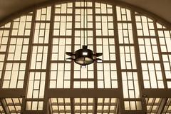 La lanterne de Diogène / The lantern of Diognenes (PhlippeC.) Tags: boulingrin reims halles lanterne spot histoire philosophie vitre marne vitrail vitraux diogene