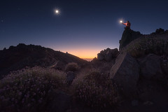 La Palma (Pablo RG) Tags: la palma noche night stars nightphotography canarias estreooas estrellas luna moon nature viaje fotografia