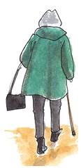 museum (h e r m a n) Tags: vrouw woman ruggenfiguur ruckenfigur rucke rug museumvisitor museumbezoeker museum rijksmuseum amsterdam herman illustratie tekening drawing illustration dagboek diary journal mijnleven mylife