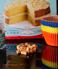 Salted Caramel Fudge Sprinkles (Chris Scopes) Tags: smileonsaturday sprinkles kitchen nikond610 luminar cake cooking