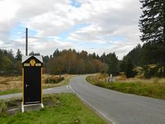 Photo of Glen Dye Automobile Association Box, Glen Dye, Aberdeenshire, Oct 2019