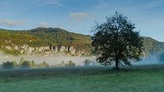 View on Bohinjska Bela (a7m2) Tags: slowenien bled bohinjskabela veldes natur tourismus bergsteigen wandern hiking oberkrain save dolenjavas church saintmargaret
