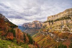 Ordesa Canyon, Aragon, Spain (StarCitizen) Tags: spain aragon ordesa valley mountains snow autumn trees canyon