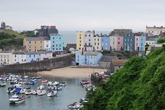 Tenby (Halliwell_Michael ## Offline mostlyl ##) Tags: tenby2019 2019 nikond40x wales tenby boats harbour pembrokeshire water landscapes seascapes houses town