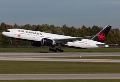 C-FNNH Air Canada B772 (twomphotos) Tags: plane spotting eddm muc rwy26r air canada boeing b772