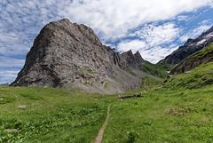 Massif du grand Marchet, juste au dessus de Pralognan la Vanoise. (olivier.amiaud) Tags: vanoise alpes montagne france grandangle pralognan juillet