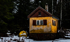 Almost Forgotten (langdon10) Tags: countryside norway rotnes cabin forest snow tree trees winter