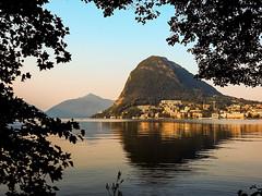 Lugano (paola.verdoliva) Tags: lugano sansalvatore lago riflesso sera