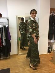Boutique (Marie-Christine.TV) Tags: feminine transvestite lady mariechristine gown dress suit boutique mirror spiegel rock kostüm dame