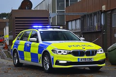 AY18 EBC (S11 AUN) Tags: suffolk police bmw 530d touring traffic car anpr rpu roads policing unit 999 emergency vehicle ay18ebc