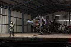 Hawker Siddeley Harrier GR.3 XV808 (Steve Tron) Tags: hawker siddeley harrier gr3 xv808 raf coldwar