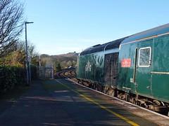 43194 'Okehampton Castle' Redruth (4) (Marky7890) Tags: gwr 43194 class43 hst 2c82 redruth railway cornwall cornishmainline train