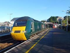 43194 'Okehampton Castle' Redruth (3) (Marky7890) Tags: gwr 43194 class43 hst 2c82 redruth railway cornwall cornishmainline train