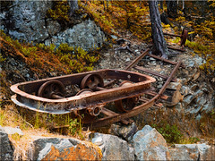 In the mining museum of Villanders in South Tyrol (Ostseetroll) Tags: geo:lat=4660343052 geo:lon=1152002762 geotagged ita italien pfundererbergwerk südtirolaltoadige villanders museum eisacktal olympus em10markii