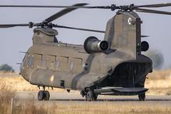 CFR5529 Boeing Vertol CH-47d Chinook (Carlos F1) Tags: nikon aircraft airplane aeroplane avion aeronave festaalcel airshow festivalaereo festival planespotter spotting lleida lerida ild helicoptero helicopter famet boeing vertol ch47d chinook ht1703 et403 alguaire spain