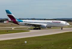 D-AXGE Eurowings A332 (twomphotos) Tags: plane spotting eddm muc rwy26r eurowings airbus a332