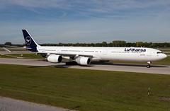 D-AIHI Lufthansa A346 (twomphotos) Tags: plane spotting eddm muc rwy26r lufthansa airbus a346