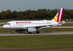 D-AGWM Germanwings A319 (twomphotos) Tags: plane spotting eddm muc rwy26r germanwings airbus a319