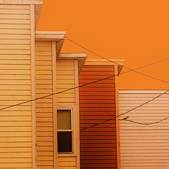 sunny side up (msdonnalee) Tags: architecturaldetail architecturalabstract colorfx orange houses casas domas haus window ventana fenster finestra janela exoticimage