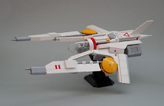 """V7 """"Tonfall"""" (Tino Poutiainen) Tags: lego legomoc legobuild legography space ship fighter spaceship spacecraft miniscale vic viper nnovvember scifi scale model moc"""