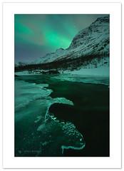 Freezing river (Horia Bogdan) Tags: northernlights aurora auroraborealis river frozen ice water snow arctic norway horiabogdan
