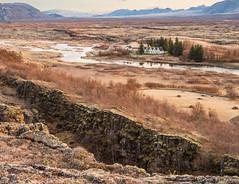 Thingvellir - Rift (yvonnegreen84) Tags: iceland thingvellirnationalpark riftvalley tectonicplatesnorthamericaneurasian