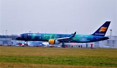 TF-FIR BOEING 757-200 (douglasbuick) Tags: aircraft icelandair airlines egpf landing tffiu airport glasgow aurora borealis livery aviation airliner airbus boeing 757200 nikon d3000 flickr