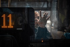 Bus nr.11 (ks.bellevue) Tags: streetpgotography streetphoto rainyday buswindow peopleinthestreets