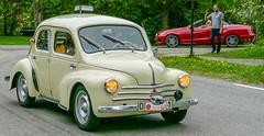 Renault 4 CV (Gösta Knochenhauer) Tags: 2016 may stockholm sverige sweden capital djurgården gärdesloppet prins bertil memorial car veteran panasonic lumix fz1000 dmcfz1000 p9040235nik p9040235 nik leica lens schweden suède svezia suecia