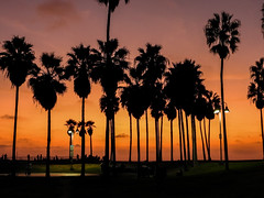 Los Angeles - Venice Beach Boardwalk (Maurizio Esitini) Tags: california los angeles venice sunset