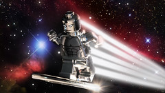 The Silver Surfer (Andrew Cookston) Tags: lego marvel comics silversurfer norrinrad cosmic space photoshop custom minifig macro toy still life photography andrew cookston andrewcookston