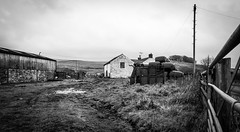 Langdon Beck . (wayman2011) Tags: canon5d colinhart lightroom5 wayman2011 bwlandscapes mono rural farmbuildings farms pennines dales teesdale langdonbeck countydurham uk