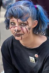 The Living Dead (Robert F. Carter) Tags: bartow florida unitedstatesofamerica people girls women death livingdead zombies costume costumes dressedup eyes