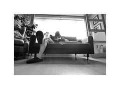 Not doing alot !!! (CJS*64) Tags: cjs64 craigsunter cjs d7000 dslr nikon nikond7000 sigma1020mm sigma people livingroom sat satabout relaxed blackwhite bw blackandwhite whiteblack whiteandblack mono monochrome