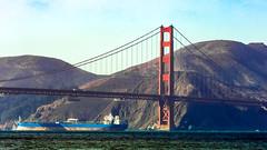 San Francisco - Golden Gate (Maurizio Esitini) Tags: califonia sanfrancisco bridge goldengate nikon p610