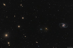 The Fornax Galaxy Cluster (Martin_Heigan) Tags: fornax galaxycluster martinheigan astronomy astrophotography galaxy supercluster widefield virgosupercluster lrgb spiral galaxies universe science cosmology space stars lightyears virgosc physics sterrestelsel heelal southernhemisphere southernsky constellationfornax deepsky ngc1365 thegreatbarredspiralgalaxy ellipticalgalaxy ngc1399 galaxywidefield astrometrydotnet:id=nova3759621 astrometrydotnet:status=solved mhastrophoto
