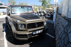 Mercedes-AMG Brabus G B40-700 W463 (R_Simmerman2) Tags: mercedesamg brabus g b40700 w463 g700 b700 mercedes benz amg monaco monte carlo casino valet parking garage hotel combo harbor boulevard supercars sportcars hypercars monacocars carsofmonaco france cannes