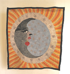 Luna Moon Embroidery Oaxaca Mexico (Teyacapan) Tags: embroidery textiles juchitan moon luna natividadamador
