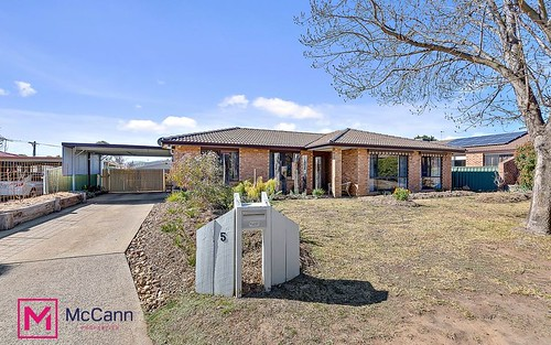 5 Trickett Place, Isabella Plains ACT 2905