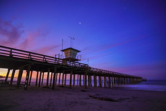 The Pier (Dancing.With.Wolves) Tags: wharf sun rise cold pier santa cruz nighttime stars cement beach sony a6000 moon winter fall 2018 2019 2020 early morning coffee warmth nature coast ocean water sand