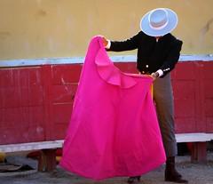 entraînement (aficion2012) Tags: arles septembre 2017 aficionados practicos francia france corrida bullfight eral toro taureau tauromachie tauromaquia provence capote capa traje de campero sombrero chapeau hat