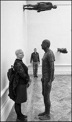 Antony Gormley @ the Royal Academy of Arts, London (Garry Corbett) Tags: julieleechiloveyou julie antonygormley royalacademyofthearts 123bw artgallery cgarrycorbett2019 bluejazzbuddha