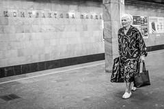 Kiev subway (Rien van Voorst) Tags: streetphotography straatfotografie strasenfotografie fotografíacallejera photographiederue fotografiadistrada monochrome city urban highcontrast ukraine kiev