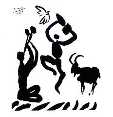 Baccanale Pablo Picasso linoleografia  1957 (Sparkling Wines of Puglia) Tags: baccanale vino linoleografia illustrated illustraciones illustrazioni illustrations illustration arte pablopicasso