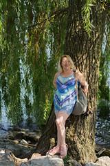 The summer sun is best enjoyed in the shade (lebre.jaime) Tags: austria upperaustria gmunden schlossort portrait tree digital fullframe ff fx nikon d600 voigtländer nokton 58f14sliis nokton5814sliis affinity affinityphoto