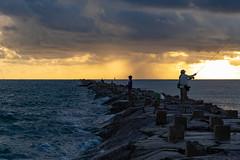 SouthPadreIsland_163 (allen ramlow) Tags: south padre island texas tx sunrise beach gulf coast clouds water sky sun jetty fishing sony alpha