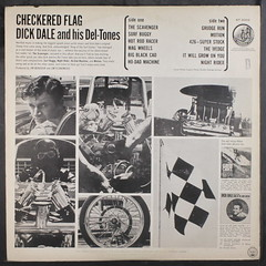 Dick Dale & His Del-Tones - Checkered Flag [1963] (renerox) Tags: dickdale dickdalehisdeltones hotrod surf surfrock 60s lp lpcover lpcovers vinyl records recordsleeve
