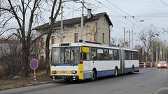 2019-11-23 Teplice Trolleybus Nr.205 (beranekp) Tags: czech teplice teplitz trolley trolleybus trolebus trolejbus obus filobus tradbus škoda arriva 205 15tr