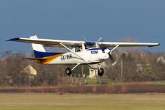 HA-SUK (Andras Regos) Tags: aviation aircraft plane fly airport lhny nyíregyháza trener trenerkft cessna c152 takeoff autumn fall